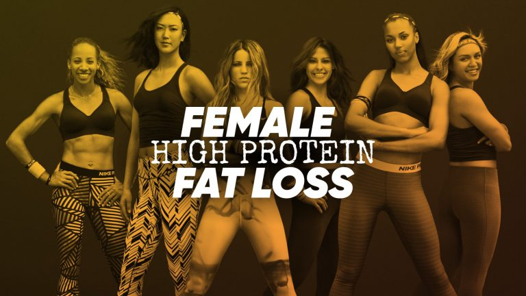 Female-High-Protein-Fat-Loss